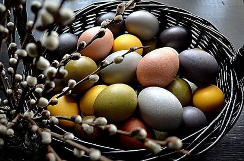 Крашенки: Рецепты окраски яиц натуральными красителями