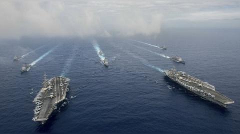 В войне на два фронта США со…