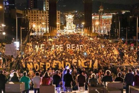 Каталонию сотрясают антииспанские митинги