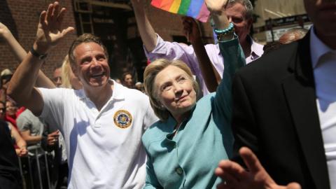 Клинтон приняла участие в ге…