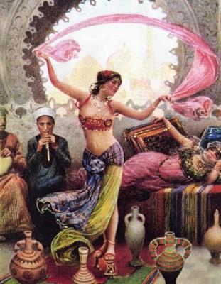 ПОСИДЕЛКИ ТАНЦЕВАЛЬНЫЕ. Танцуем с ними... танец живота