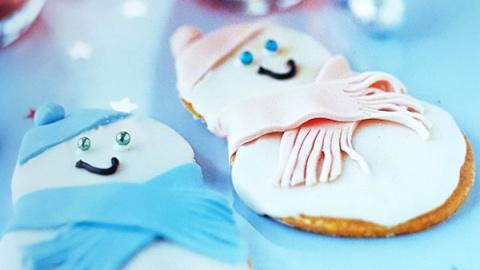Имбирные снеговики: рецепт н…