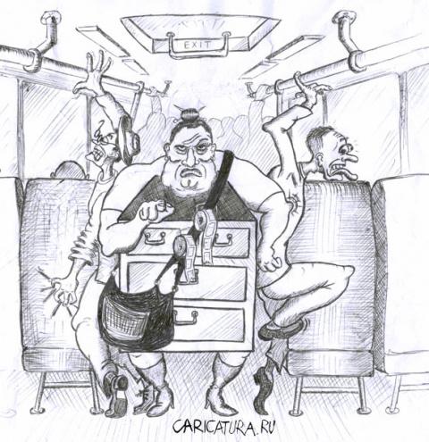 Как француз в автобусе ездил