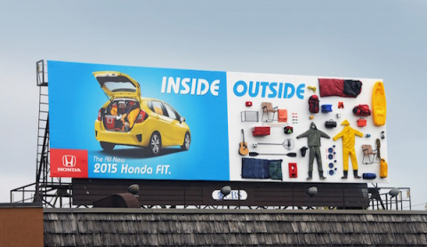 Honda Fit - влезет все!
