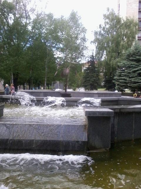 Донецк – конец июля, «водные…