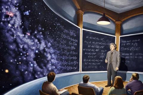 The Chalkboard Universe