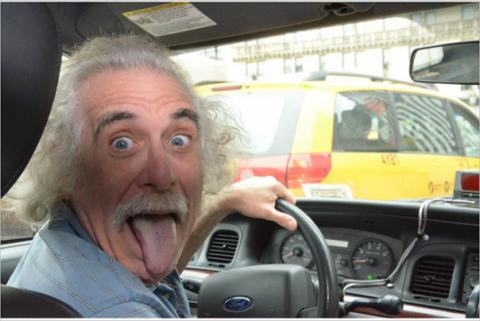 Таксист здорового человека..…