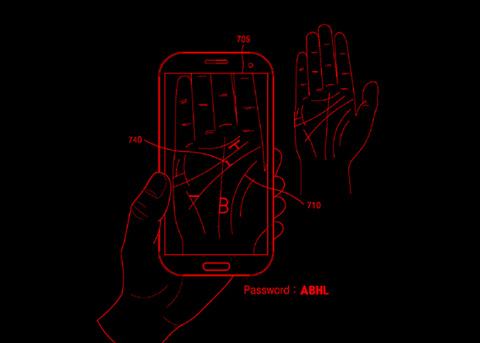 Samsung предложила прятать пароли в линиях на ладони