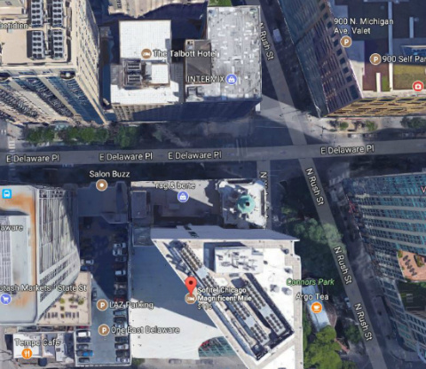 """Чикагского """"Человека-Мотылька"""" видели на крыше высотки, откуда он мгновенно исчез"""