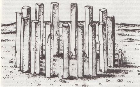 Загадка мегалитов на реке Ус…