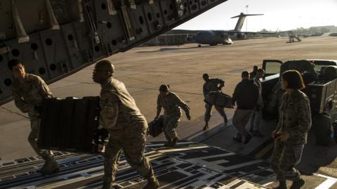 В Сирии обнаружили тайную базу США