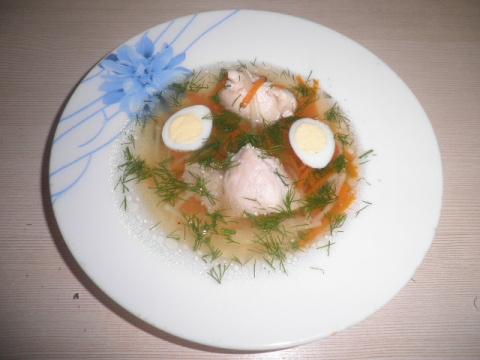 """Легкий суп """"В гостях у тёти Сони"""""""