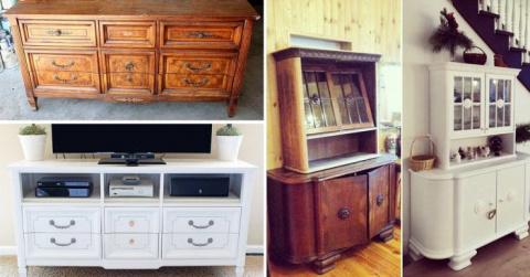 Переделка старой советской мебели
