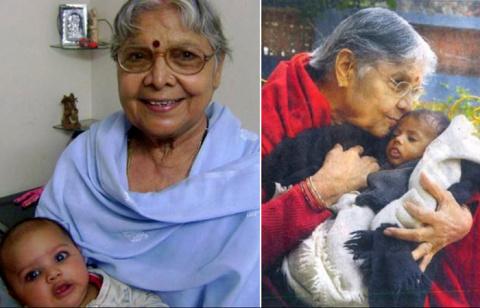 Индийская женщина стала мате…
