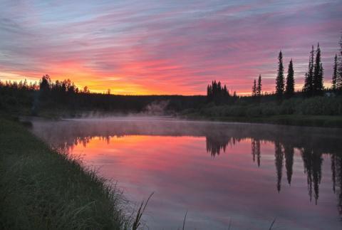 Аномальное озеро в Якутии - …