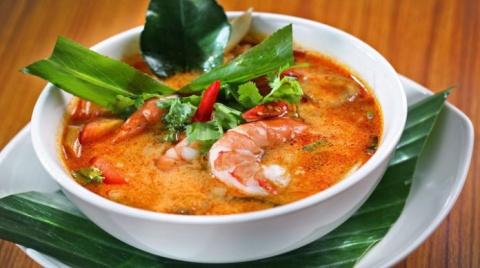 Вкуснейший тайский суп с мор…
