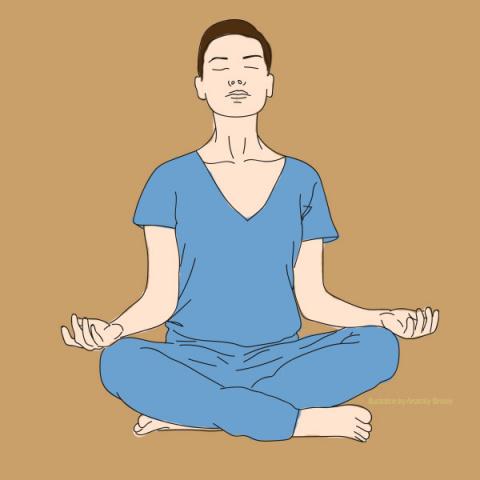 Простые позы йоги для начинающих избавят от болях в спине и других проблем