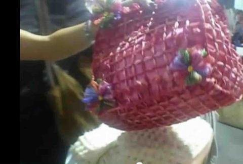 Быстрое изготовление цветов из лент и вязание на тенерфе