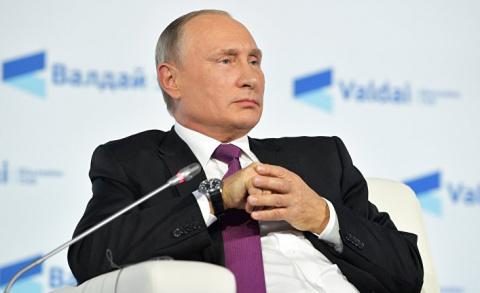 Речь Путина похожа на выступ…