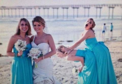 Прикольные свадебные фотобом…