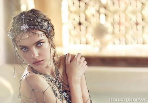 Наталья Водянова полностью разделась для эротической фотосессии