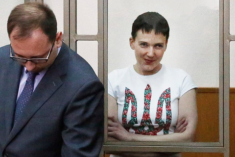 Во время чтения приговора выяснилось, как Надежда Савченко оказалась в России
