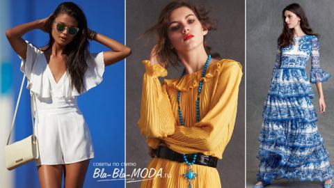 Модные тенденции: воланы, рюши, оборки - мода 2016, модные тенденции, фото
