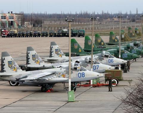 Авиация Украины готовится ат…