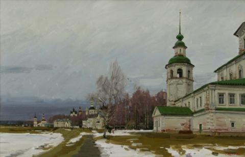 Художник Евгений Молев