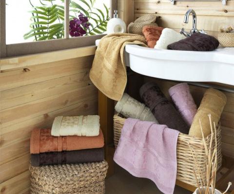 Как сделать махровые полотен…
