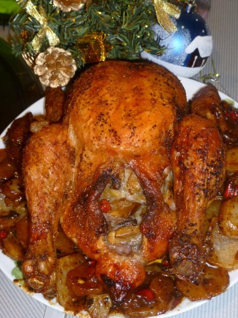 Курица по Мадридски