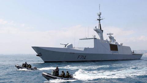 "В Черном море заметили французский ""фрегат-невидимку"""