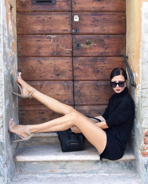 Модная бабушка из Сербии стала звездой инстаграма