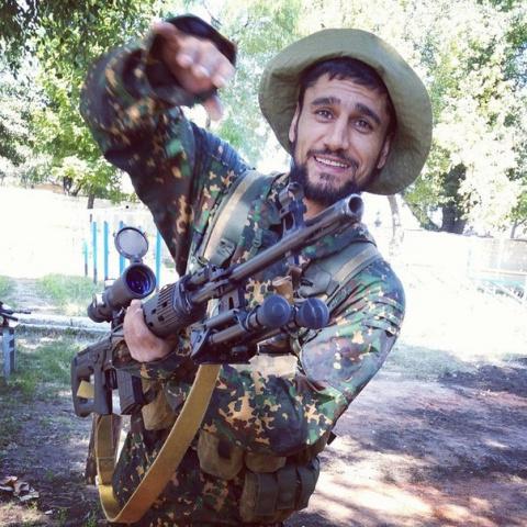 Воин Новороссии афганец Абду…
