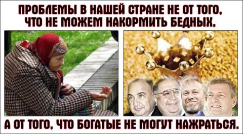 Каждый второй житель России …