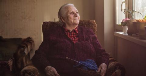 Она овдовела в 65 лет… Искал…