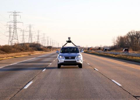 Участник робозаезда DARPA показал новый беспилотный автомобиль