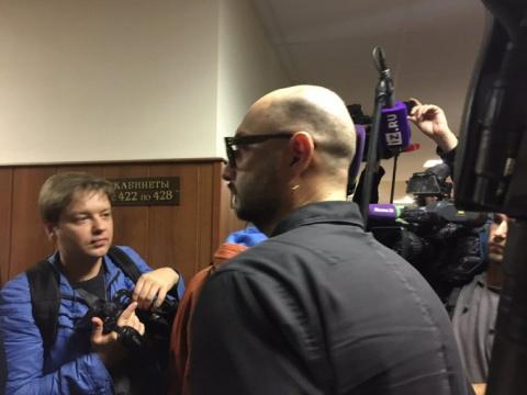 Серебренников проведет под домашним арестом еще три месяца