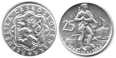 чехословакия 1955 50 крон