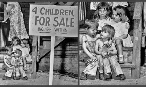 «Продам четверых детей!»: Как сложилась жизнь детей со скандальной фотографии 1948 года