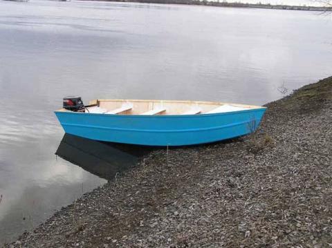 Лодка за один месяц - на пят…