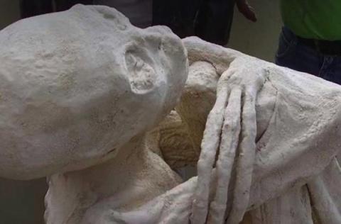 Перуанская мумия инопланетян…