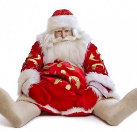 Брянский Дед Мороз не устоял…