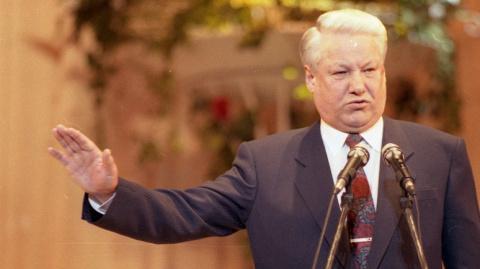 Telegraph: Ельцин так впечат…