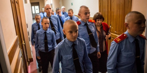 В Томске кадеты объявили гол…