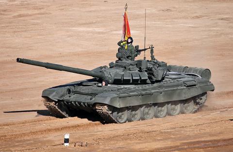 Российские танки Т-72Б3 подарены Сербии