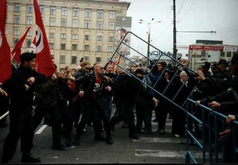 Марш «Антикапитализм» законч…