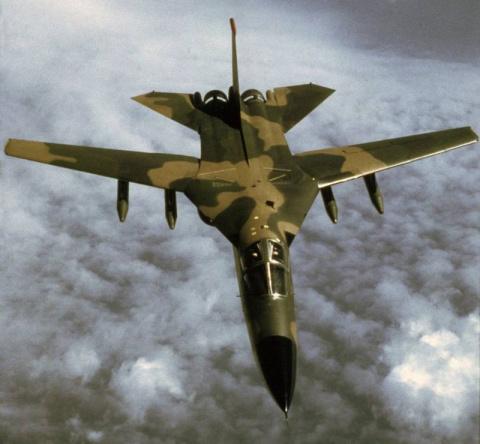 Тактический бомбардировщик General Dynamics F-111 Aardvark