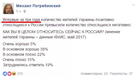 Украинцы нас простили!!!