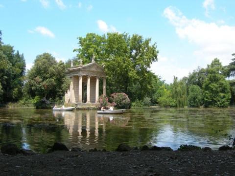 Вилла Боргезе - маленький Лувр в Риме
